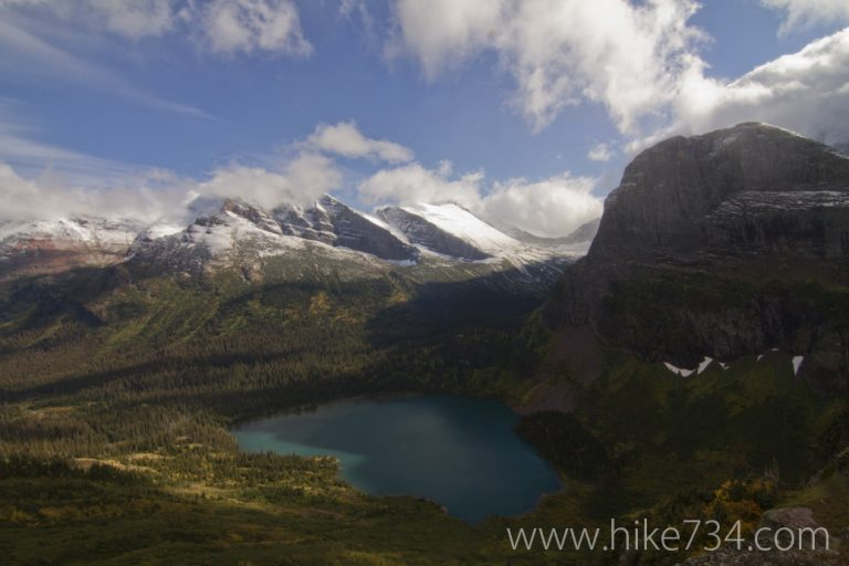 Grinnell Lake & Angel Wing