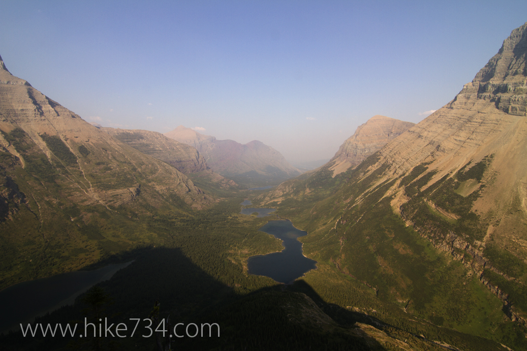 Swiftcurrent Pass & Swiftcurrent Lookout