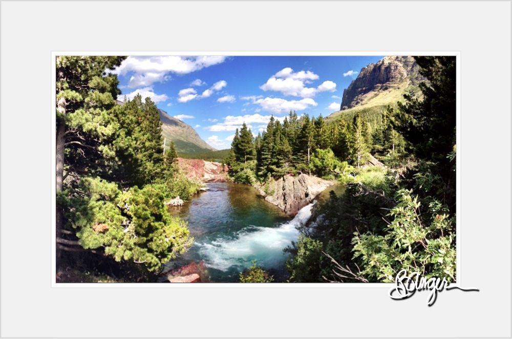 Glacier National Park - Redrock Falls