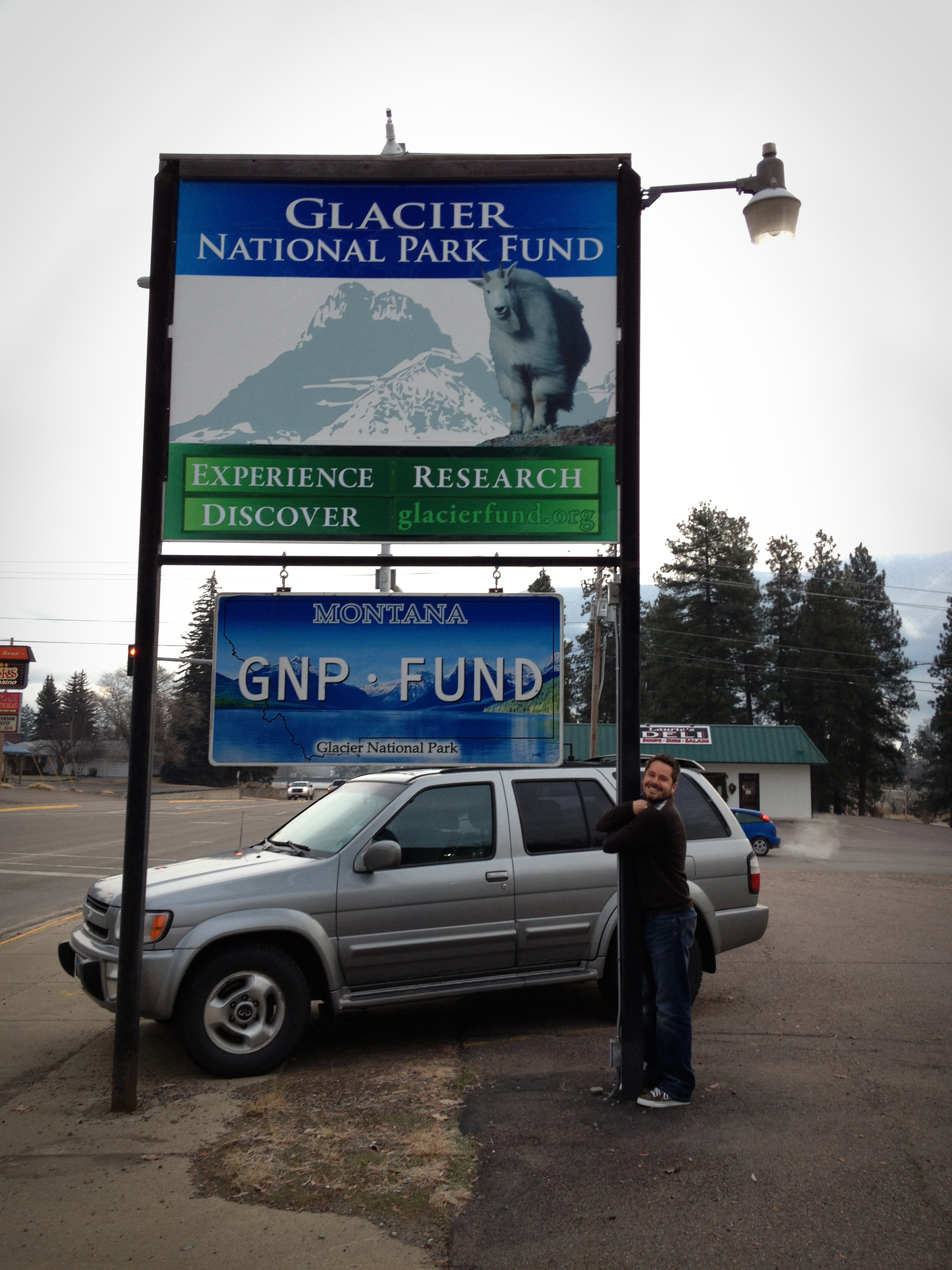 Jake plus the Glacier National Park Fund