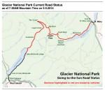 Glacier National Park Road Status