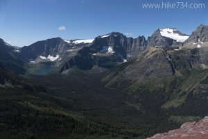 Belly River headwaters from ridge