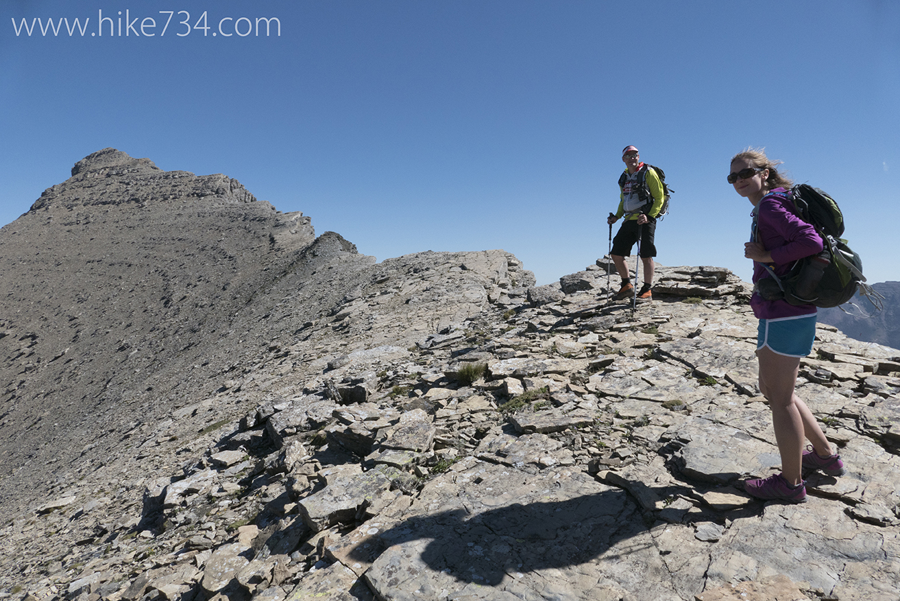 climbing mt grinnell