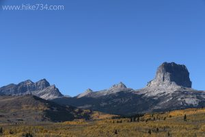 Chief Mountain in Autumn
