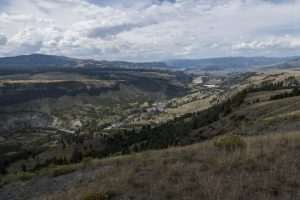 Yellowstone River from Specimen Ridge